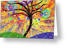 Solar Tree Greeting Card