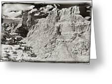 Solarized Badlands Greeting Card