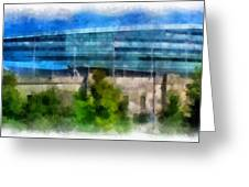 Soldier Field Chicago Photo Art 01 Greeting Card