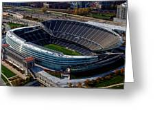 Soldier Field Chicago Sports 06 Greeting Card