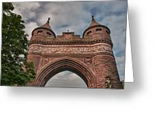 Soldiers And Sailors Memorial Arch Greeting Card