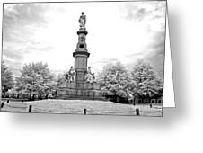 Soldier's Monument - Gettysburg - Irbw Greeting Card