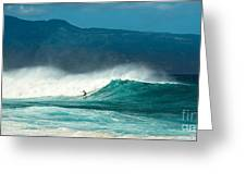 Sole Surfer Greeting Card