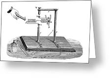 Solenoid Demonstration Greeting Card