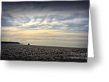 Solice On The Beach Greeting Card