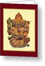Solitaire Vinayak Greeting Card