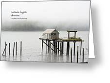 Solitude Begets Whimsies Greeting Card