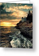 Solitude Greeting Card by Chad Tracy