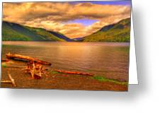 Solitude On Crescent Lake Greeting Card