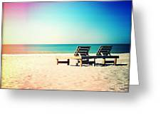 Solitude Photography Light Leaks Greeting Card