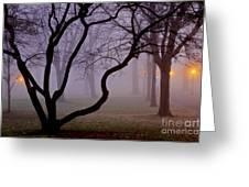 Solitudes Glow Greeting Card