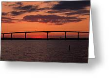 Solomon Bridge Greeting Card