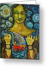Solstice Dreamer Greeting Card