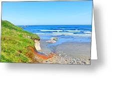 Some Beach Colors Greeting Card