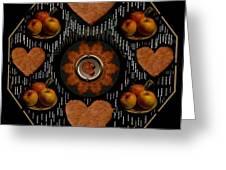 Some Snacks Pop Art Greeting Card