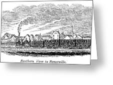 Somerville, 1844 Greeting Card