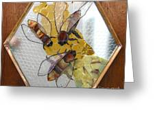 Something About Bees Greeting Card