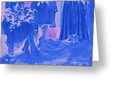 Something Old Something New Something Borrowed Something Blue By Jrr Greeting Card
