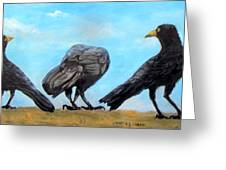 Something To Crow About Greeting Card
