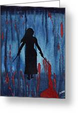 Something Wicked This Way Comes Greeting Card