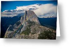 Somewhere Over Half Dome Greeting Card
