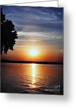 Somewhere Sunset  Greeting Card
