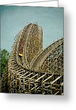 Son Of Beast Roller Coaster Greeting Card