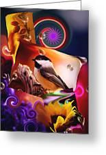 Sonata In B Major... Greeting Card