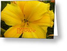 Song Of Solomon 2  2 Greeting Card