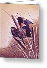 Song Of The Marsh Greeting Card