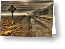 Song Of The Open Road Greeting Card