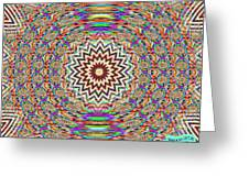 Sonic Vibrations Greeting Card by Bobby Hammerstone