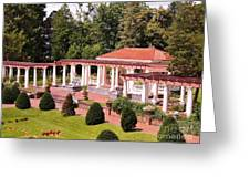 Sonnenberg Gardens Ny Greeting Card