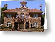Sonoma City Hall Greeting Card