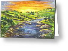 Sonoma Country Greeting Card