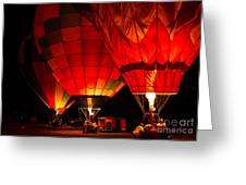 Sonoma County Hot Air Balloon Classic Greeting Card