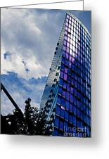 Sony Center In Downtown Berlin Greeting Card