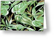 Soothing Tropics Greeting Card