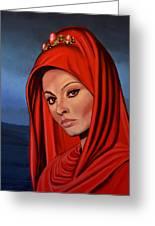 Sophia Loren 2  Greeting Card