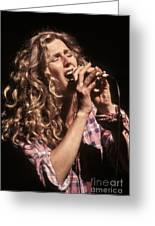 Sophie B Hawkins Greeting Card