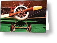 Sopwith Camel Airplane Greeting Card