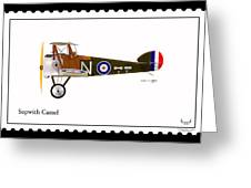 Sopwith Camel Greeting Card