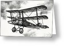 Sopwith Triplane 1917 Greeting Card