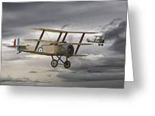 Sopwith Triplane Greeting Card