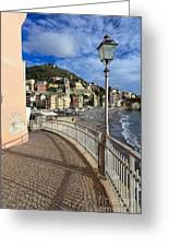 Sori - Sea And Promenade Greeting Card