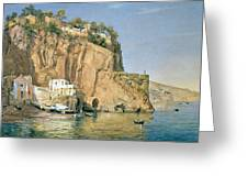 Sorrento Greeting Card by Emanuel Stockler