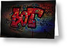 Sot Graffiti - Lisbon Greeting Card