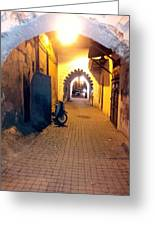 Souk Part Two Greeting Card