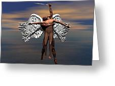 Soul Ascending Greeting Card