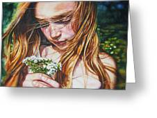 Soul Blossoms Greeting Card